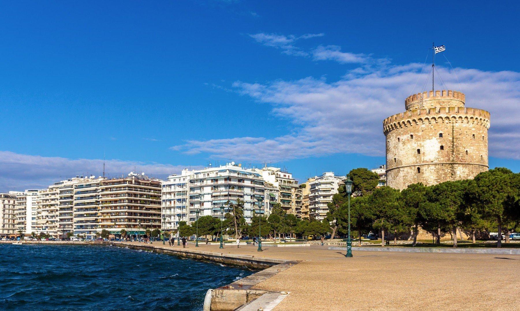 Tesalónica, Torre Blanca, Thessaloniki, Norte de Grecia